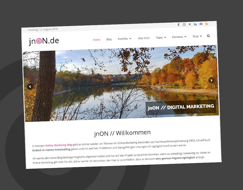 jnON.de Portfolio
