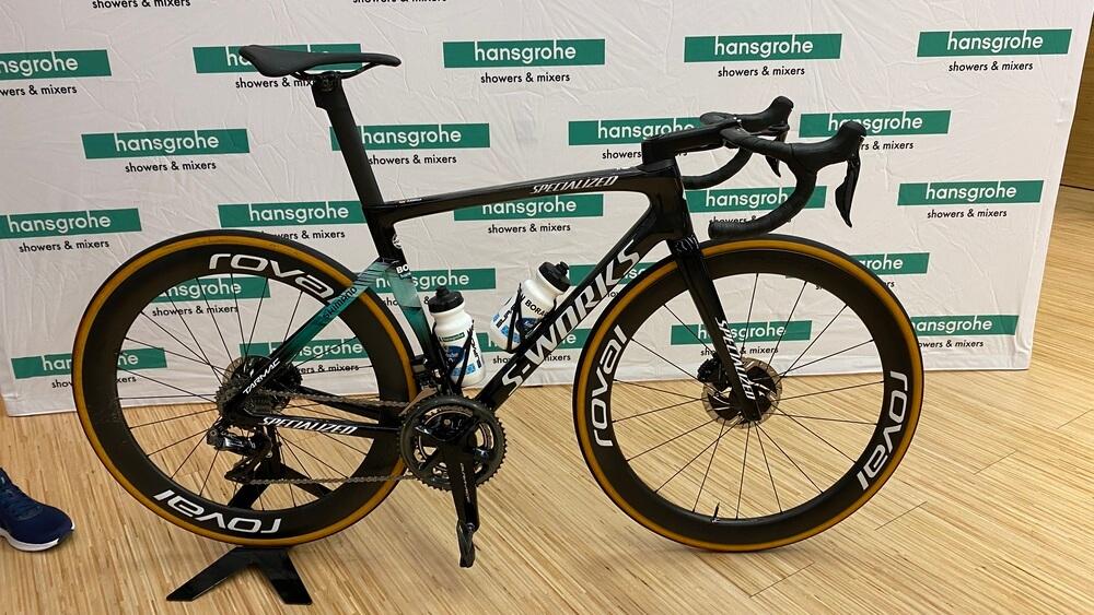 Fahrrad von Lennard Kämna (BORA-hansgrohe) von Specialized S-Works 2020