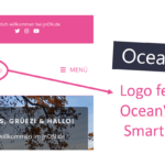 Logo bei OceanWP fehlt am Smartphone
