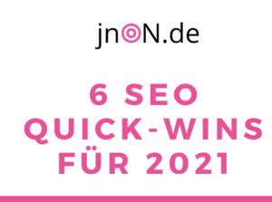 SEO-Quick-Wins 2021