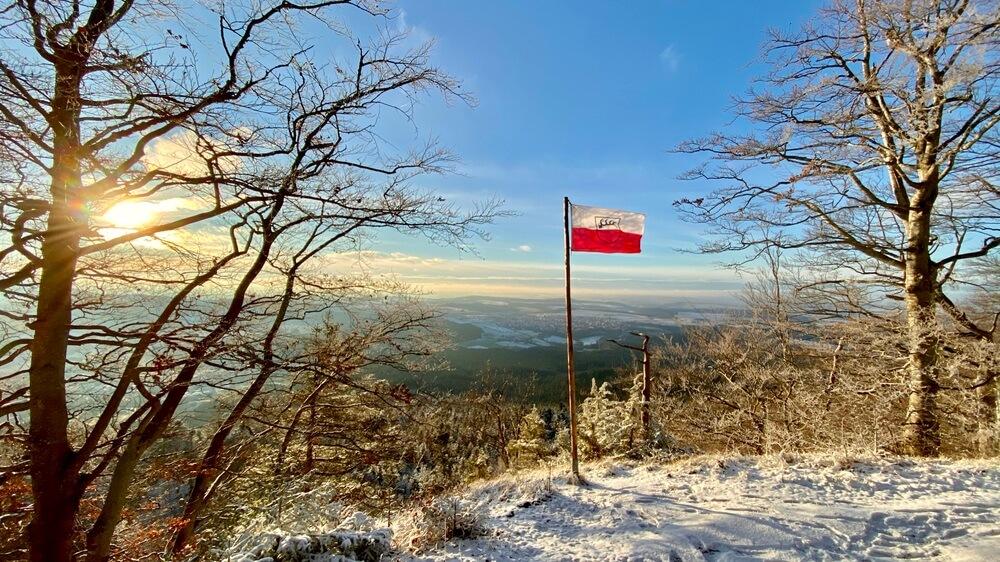 Plettenberg-Wanderung bei Schnee