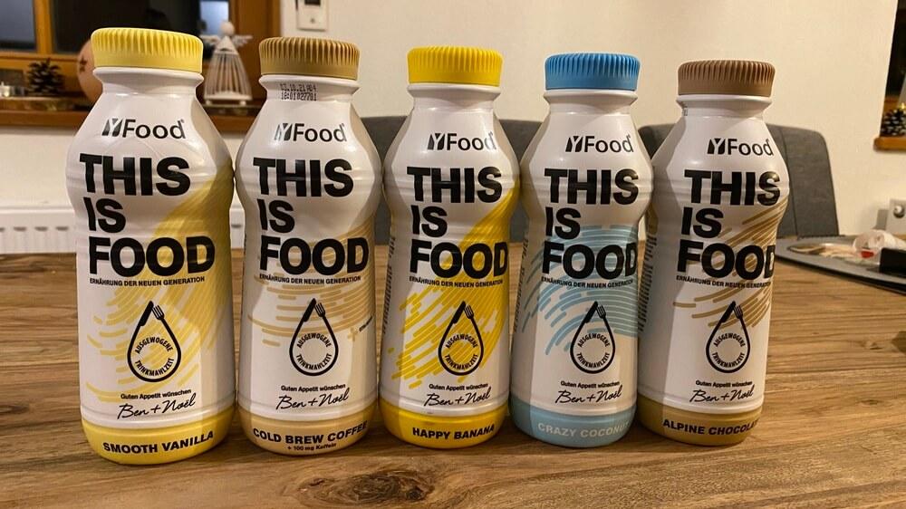 YFood-Test 2021: Trinkmahlzeit